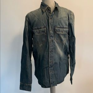 American Eagle Jean Shirt Classic Fit Small